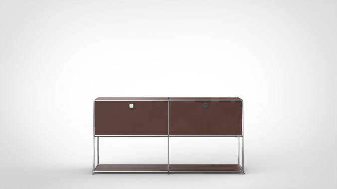 SYSTEM 01 Sideboard, LINE 1801 Rust