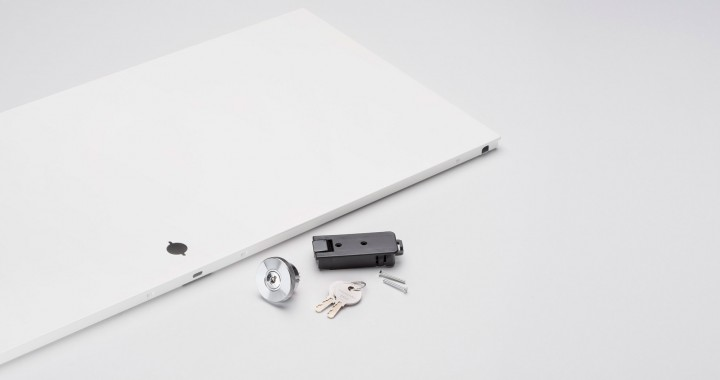 Complete drop-down door kit for USM Haller with Lock