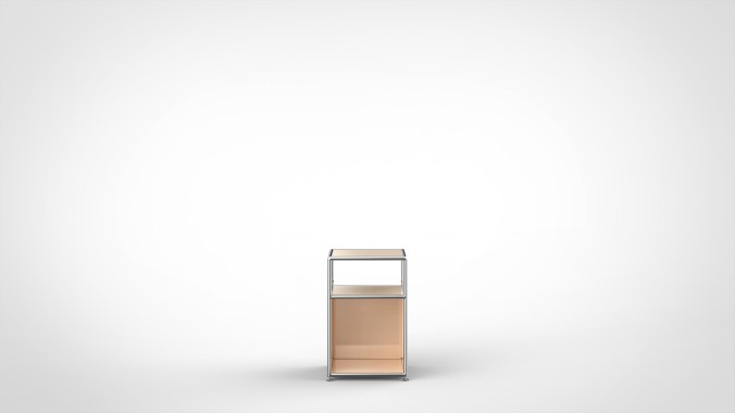 SYSTEM 01 Nightstand, LINE 2101 Canvas